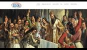 Η επίσημη ιστοσελίδα της Εκκλησίας της Ελλάδος για τον εορτασμό των 200 χρόνων από την Ελληνική Επανάσταση