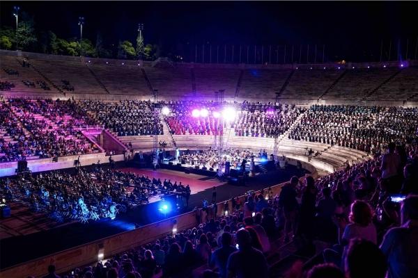 """""""Για την Πίστη και τη Λευτεριά"""" - Συναυλία στο Παναθηναϊκό Στάδιο 11/09/2021"""